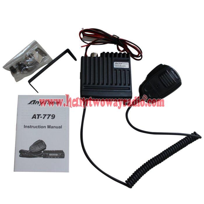 High Quality Anytone AT-779 VHF UHF Mini Mobile Car Radio