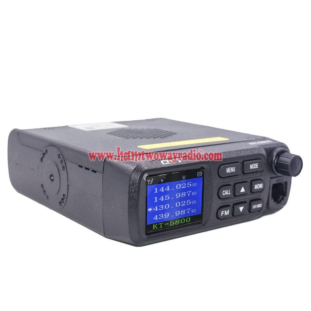 QYT KT-8900D 4 Color Dual Band Quad Standby Mini Car Truck Radio Transceiver US*