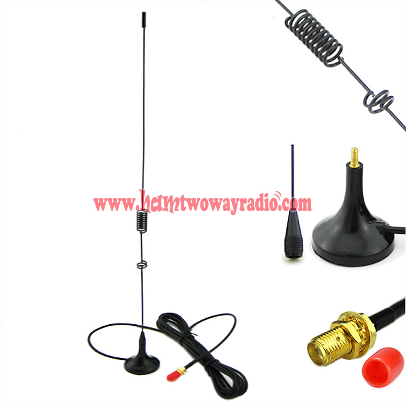 UT106 UHF//VHF Dual Band Car Mobile Antenna For BAOFENG Radio GT-3TP GT-5 BF-F8+