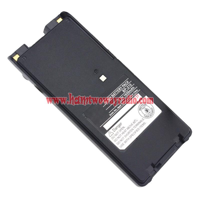 BP-209N BP-210N Battery for ICOM IC-F3GT F4GT F11 F21 A6E A24E F11BR F21BR