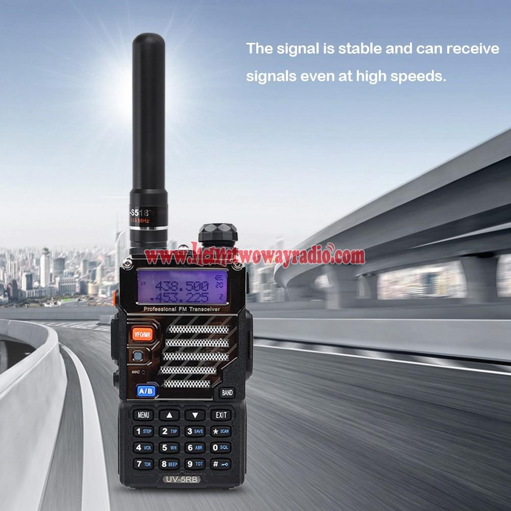 SMA-F Female Short Antenna for Retevis H777 Baofeng 888s Kenwood TYT Radio US